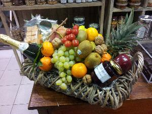 Panier de fruits gourmand